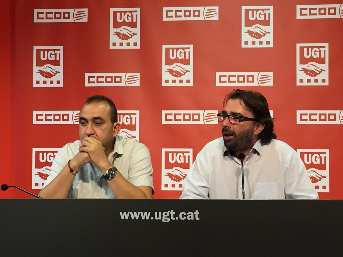 CCOO UGT Catalunya