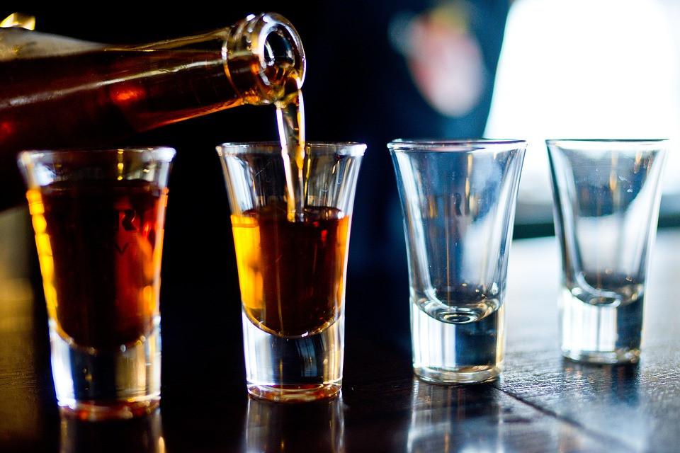 Alcohol chupito