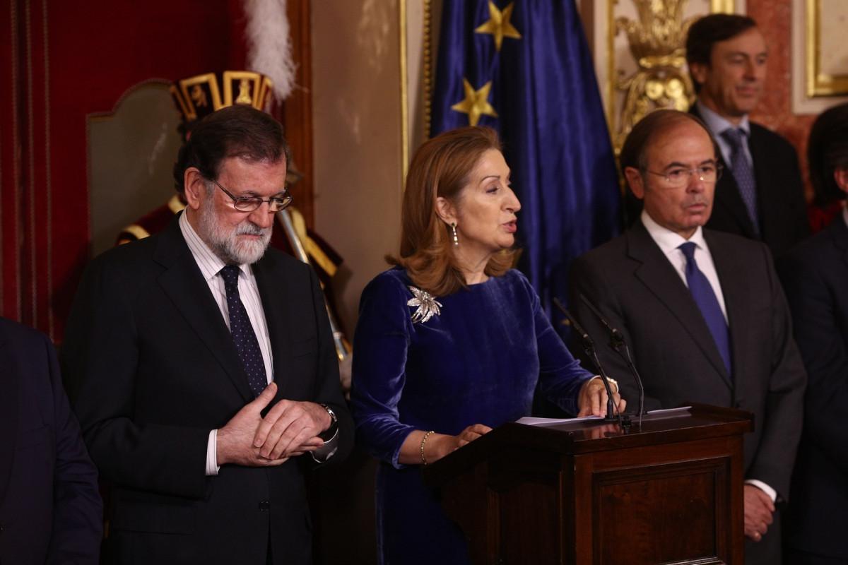 Ana Pastor, en el discurso del Du00eda de la Constituciu00f3n