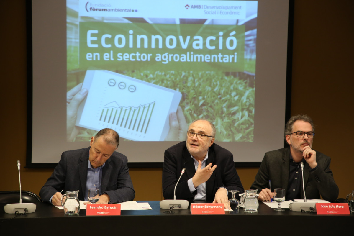 Ecoinnovaciu00f3 en el sector agroalimentari