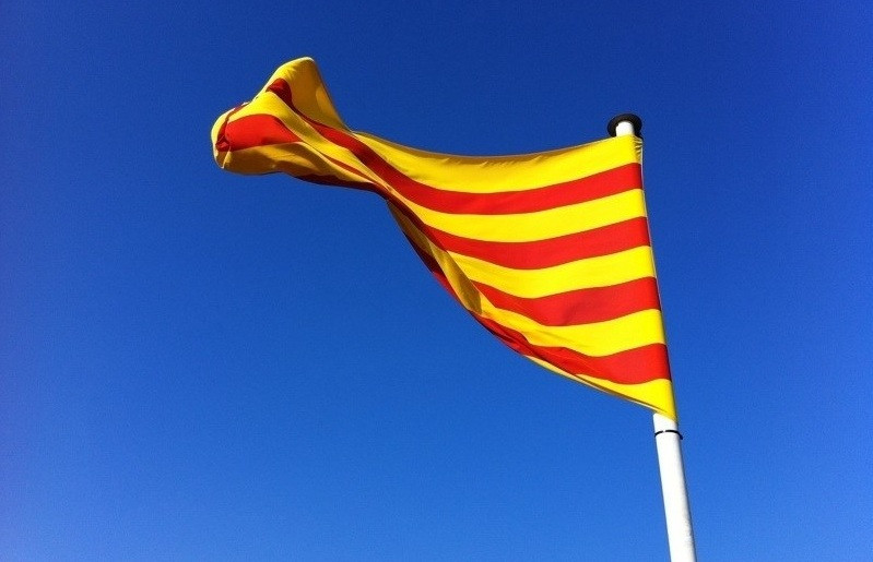 Bandera senyera catalunya