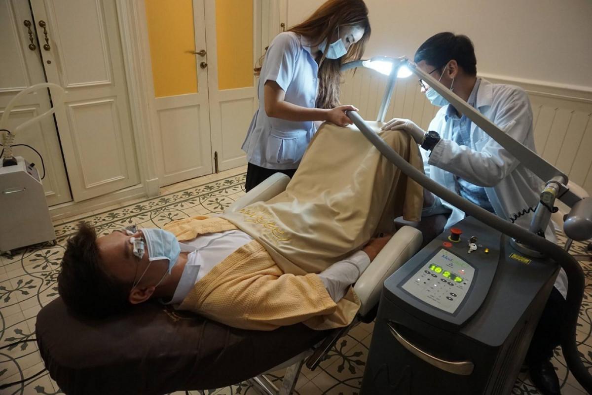 Blanqueamiento de pene en Tailandia