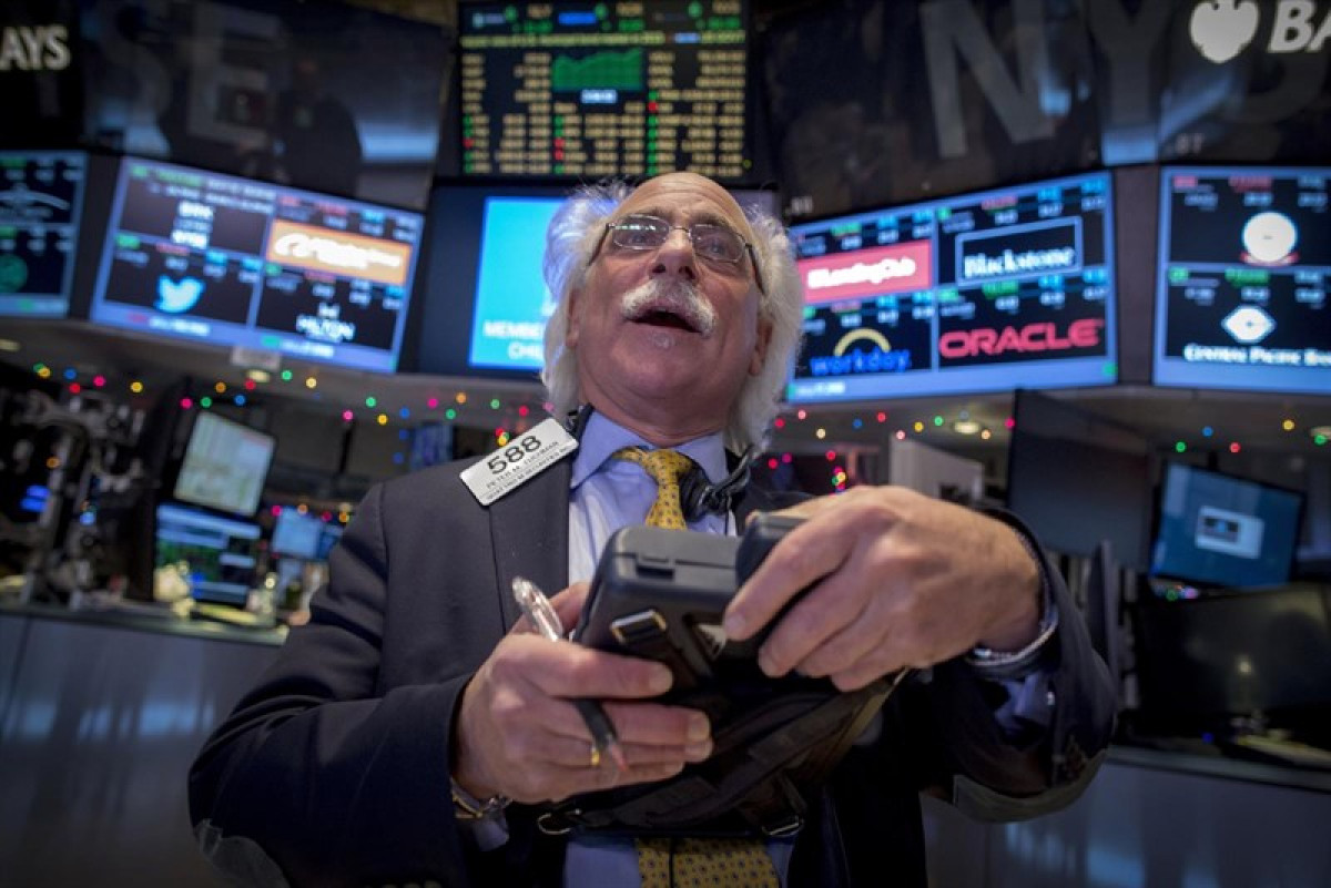 Dow jones agente bolsa nueva york