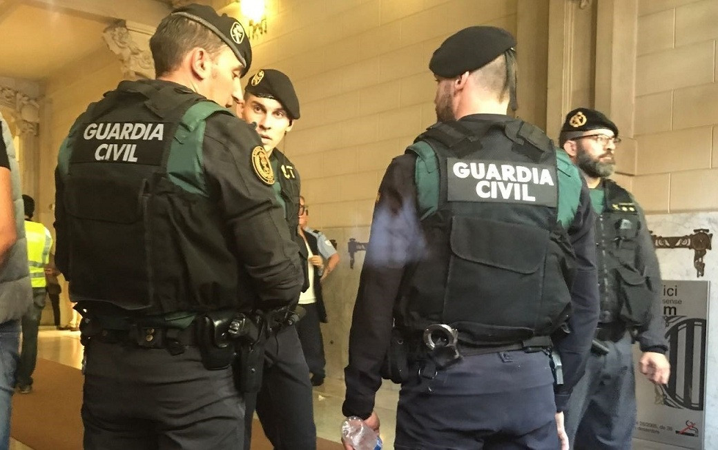Guardia civil referendum