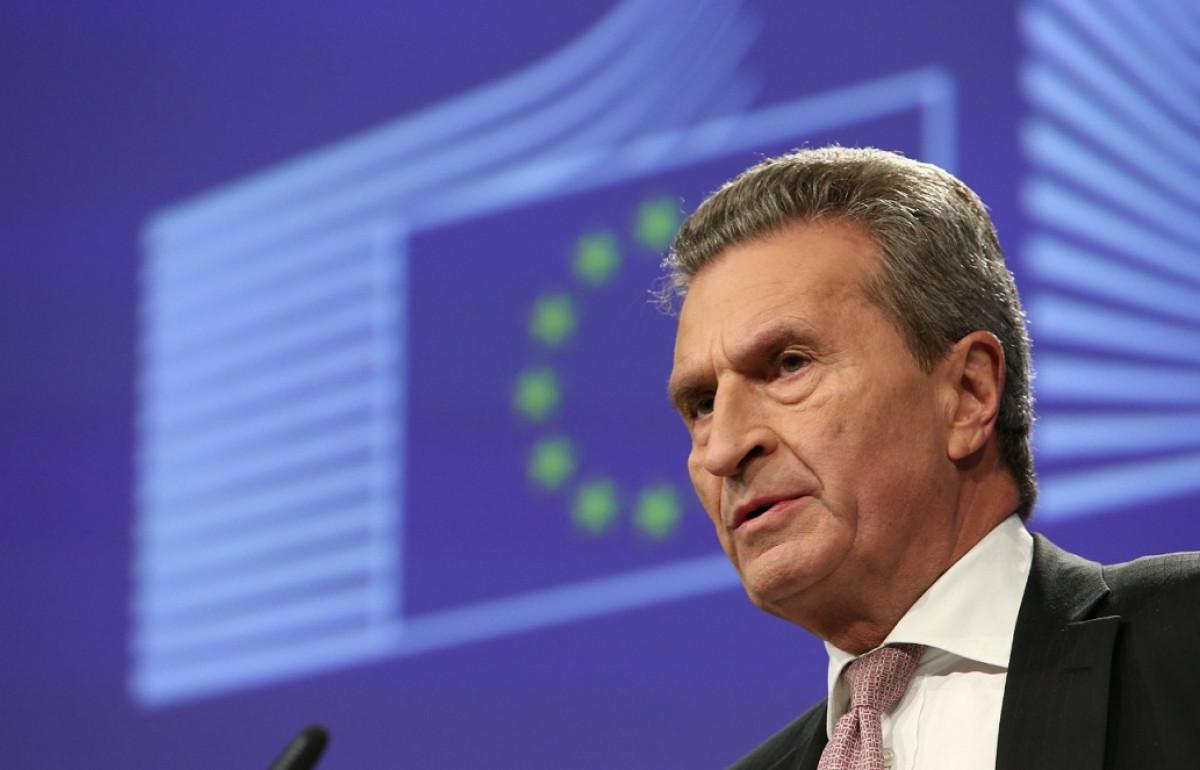 Gu00fcnther oettinger comisiu00f3n europea ue bruselas europa