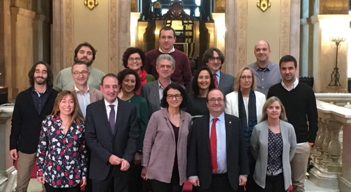Psc parlament grupo parlamentario