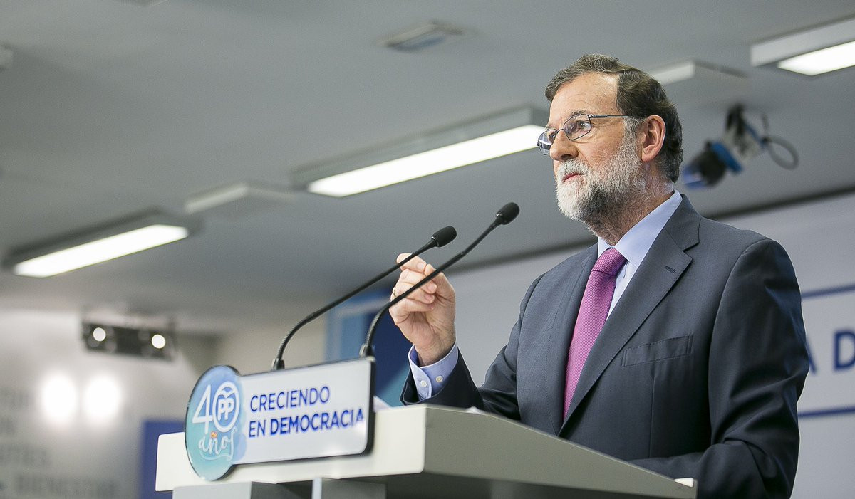 Rajoy preside la Junta Directiva Nacional del Partido Popular