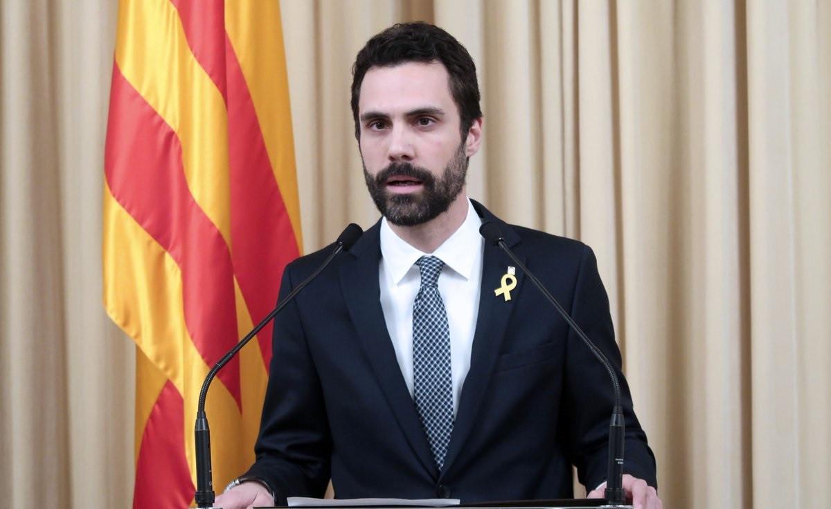 Torrent anuncia a Puigdemnot como candidato a president
