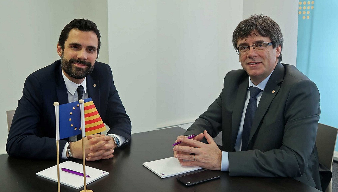 Torrent puigdemont bruselas