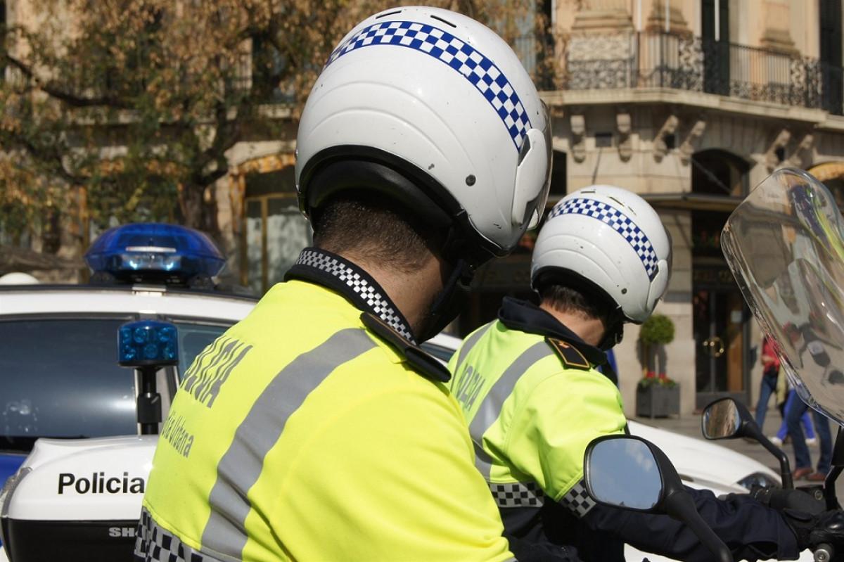 Guardia urbana barcelona