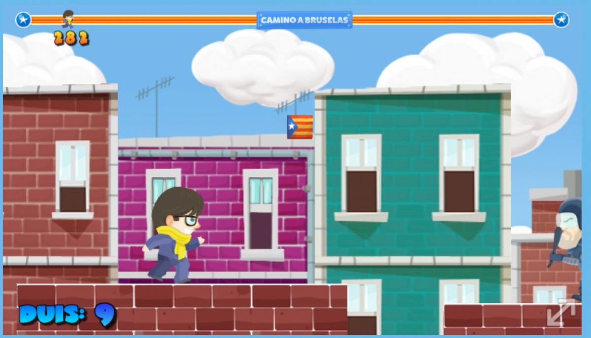 Puigdemont go videojuego