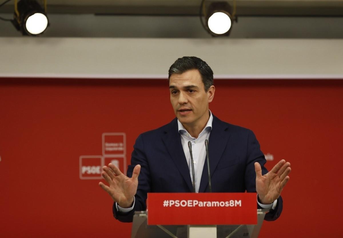 Pedro su00e1nchez 05032018