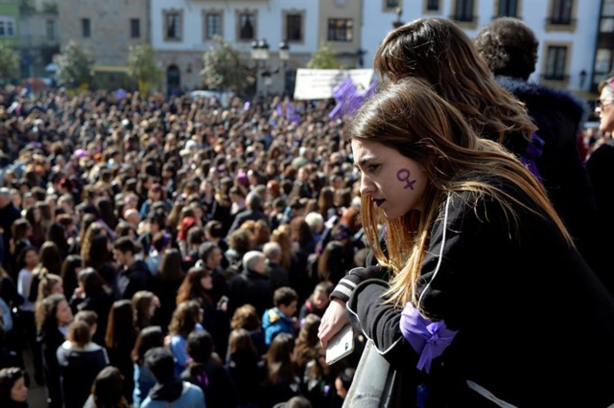 Huelga feminista 1