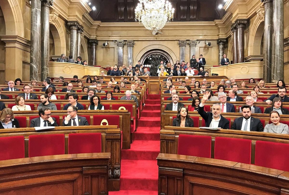 Pleno parlament 12032018