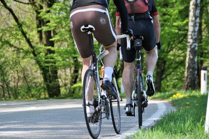 Bicileta paseo en bicicleta