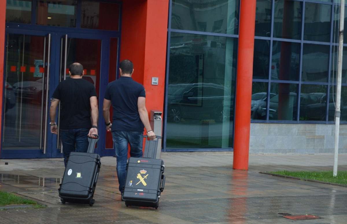 Guardia civil mossos 1O referendum