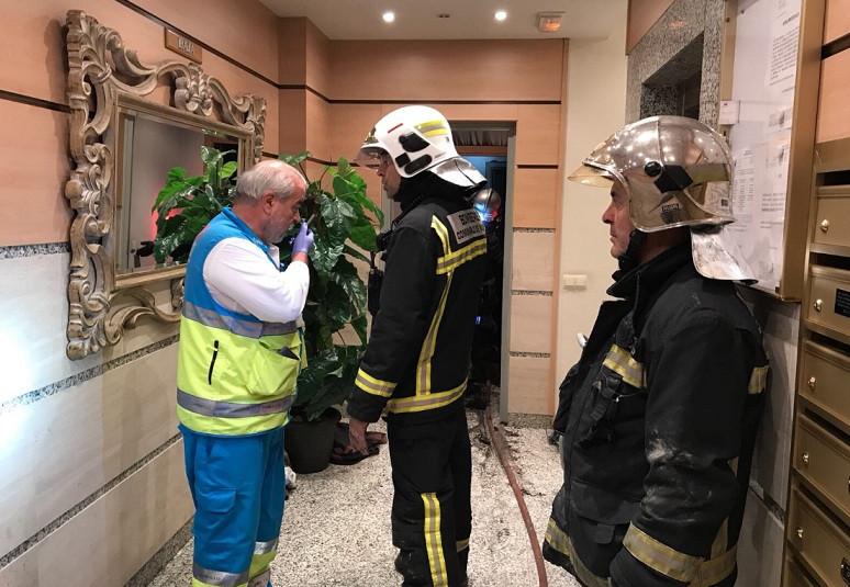 Emergencias 112 madrid incendio getafe