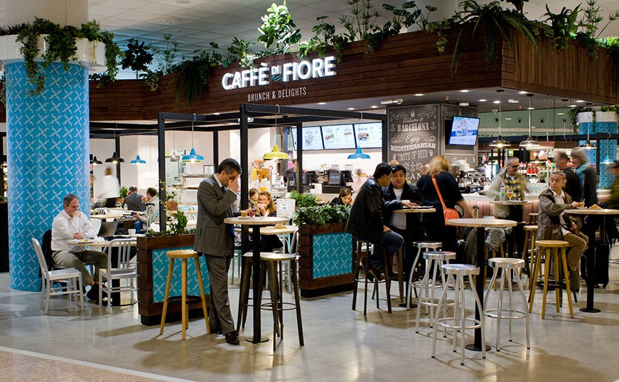 Restaurante cafetería aeropuerto prat