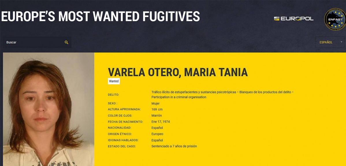 Tania varela europol 26032018