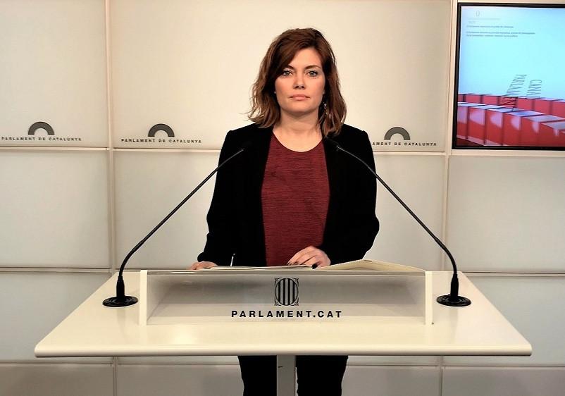 Elisenda alamany parlament 26032018