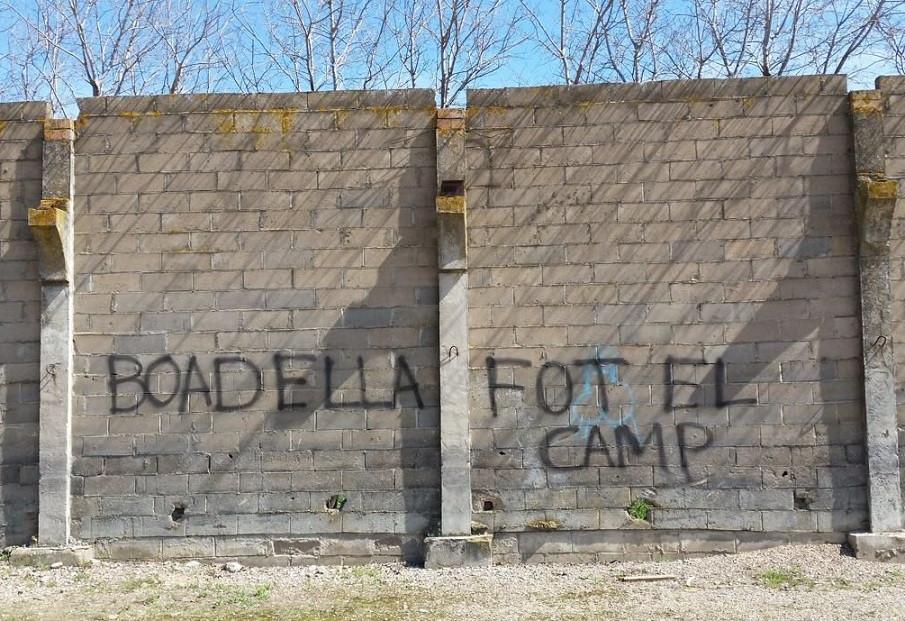 Boadella pintada amenazas 27032018