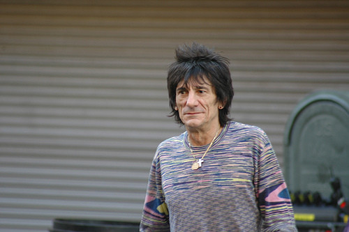 Ronnie wood rolling stones 29032018