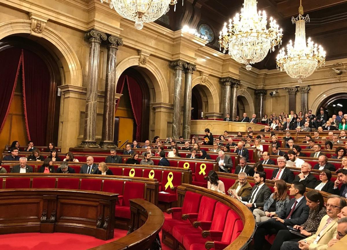 Pleno parlament marzo 04042018