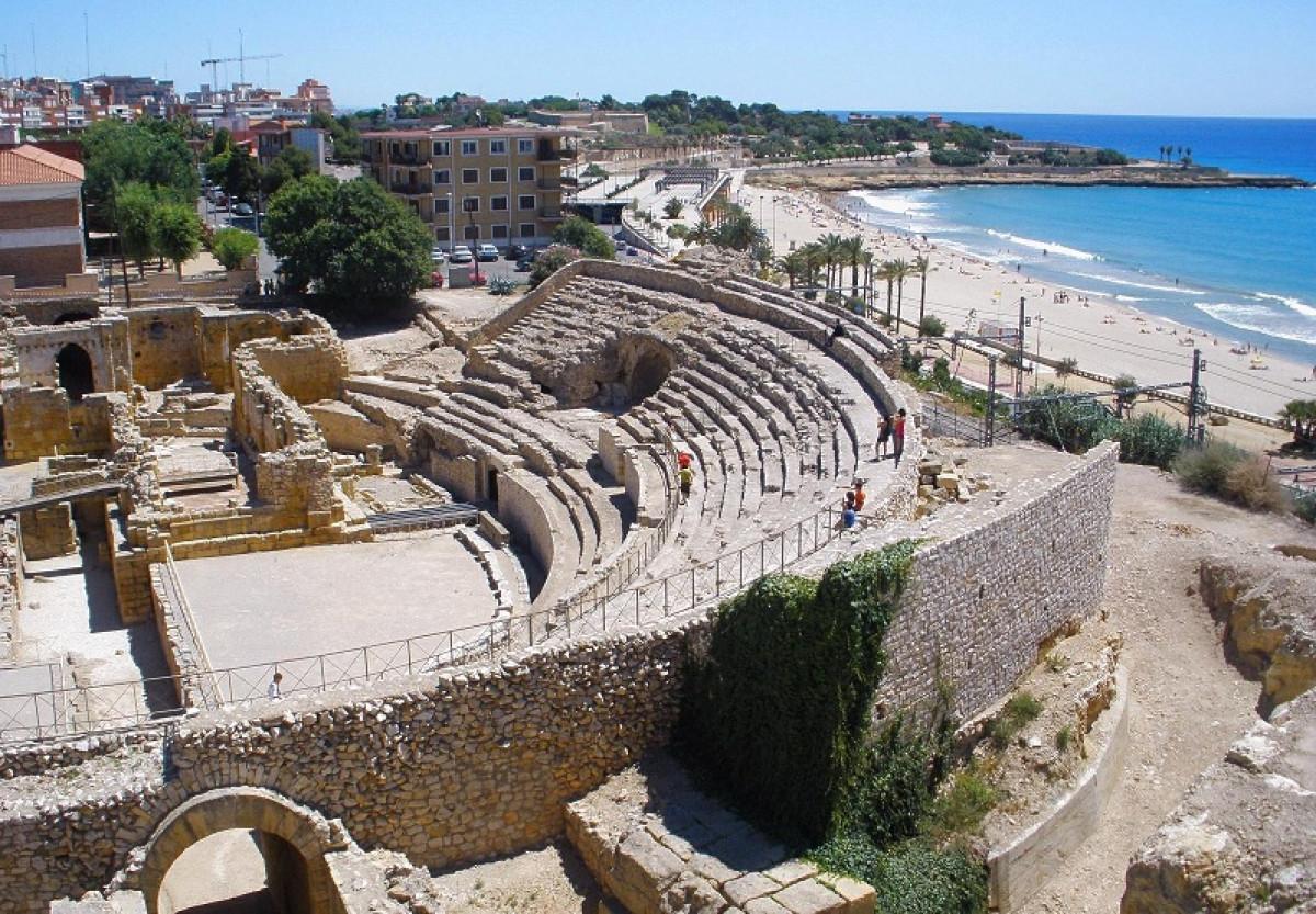 Anfiteatro romano tarragona 10042018