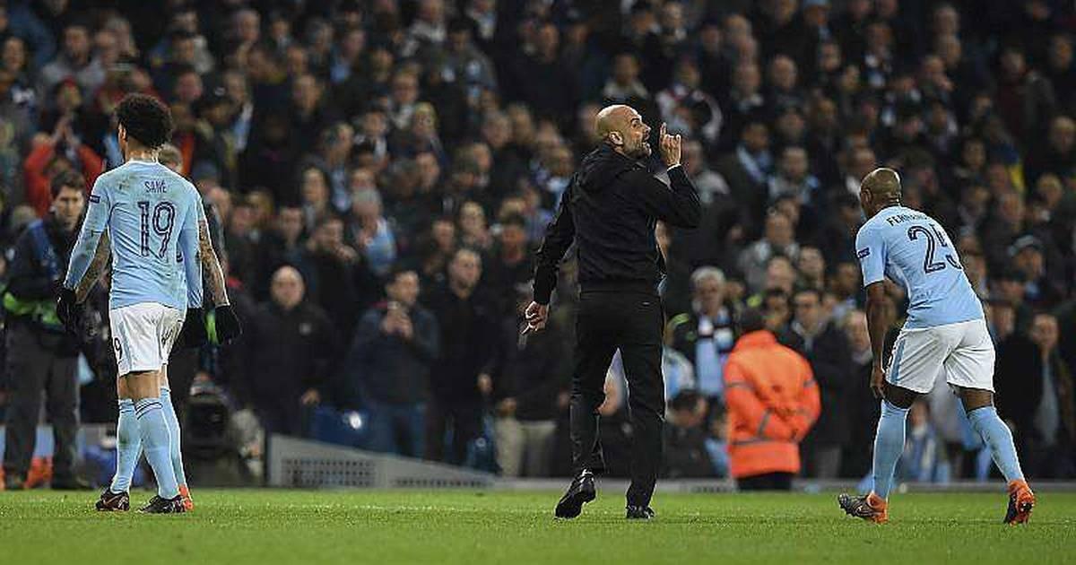 Conducta inapropieada de Guardiola en la Champions