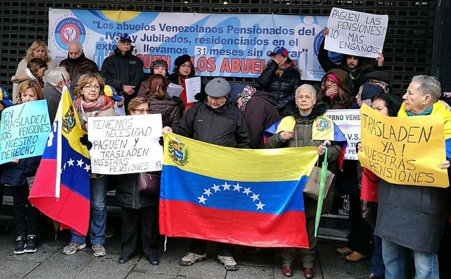 Venezuela asilo venezolanos espau00f1a 18042018