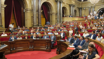 Parlament desconexion