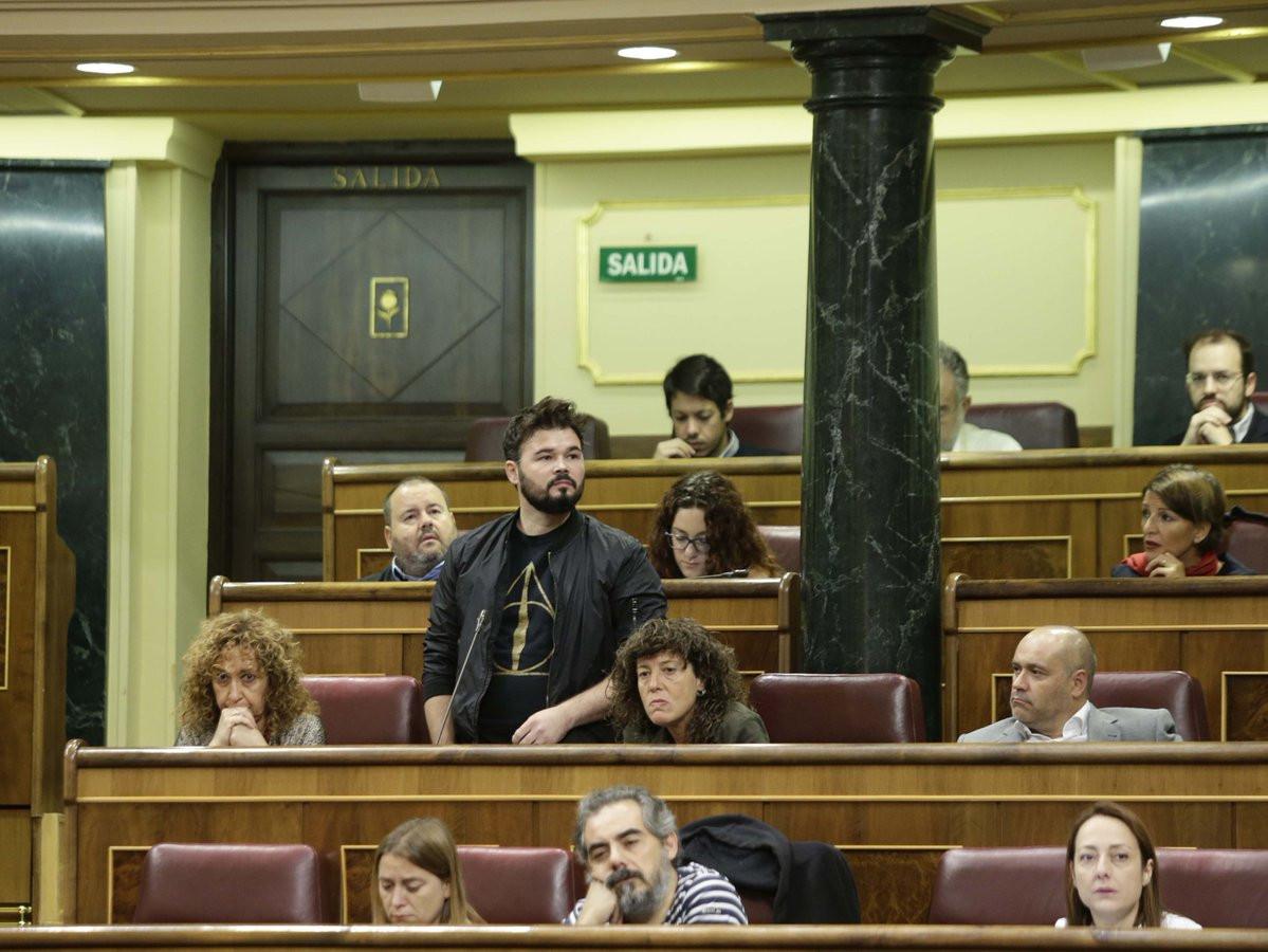 Gabriel Rufian Congreso