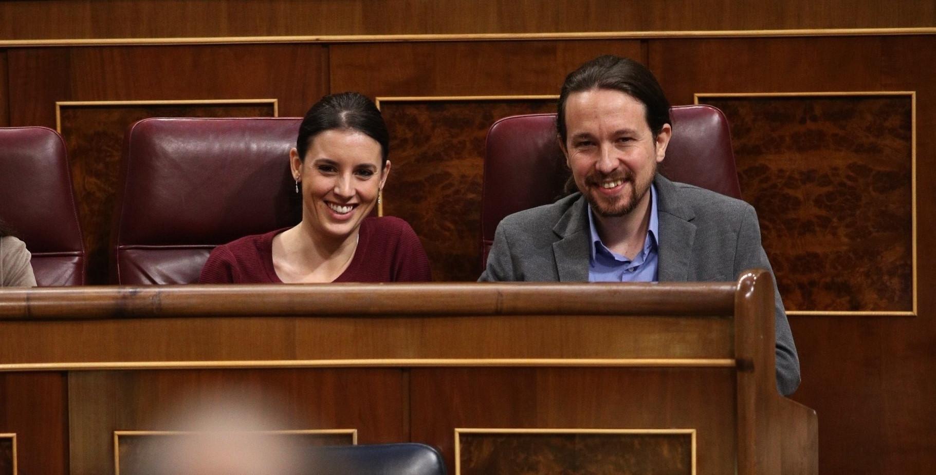 IreneMonteroyPabloIglesias