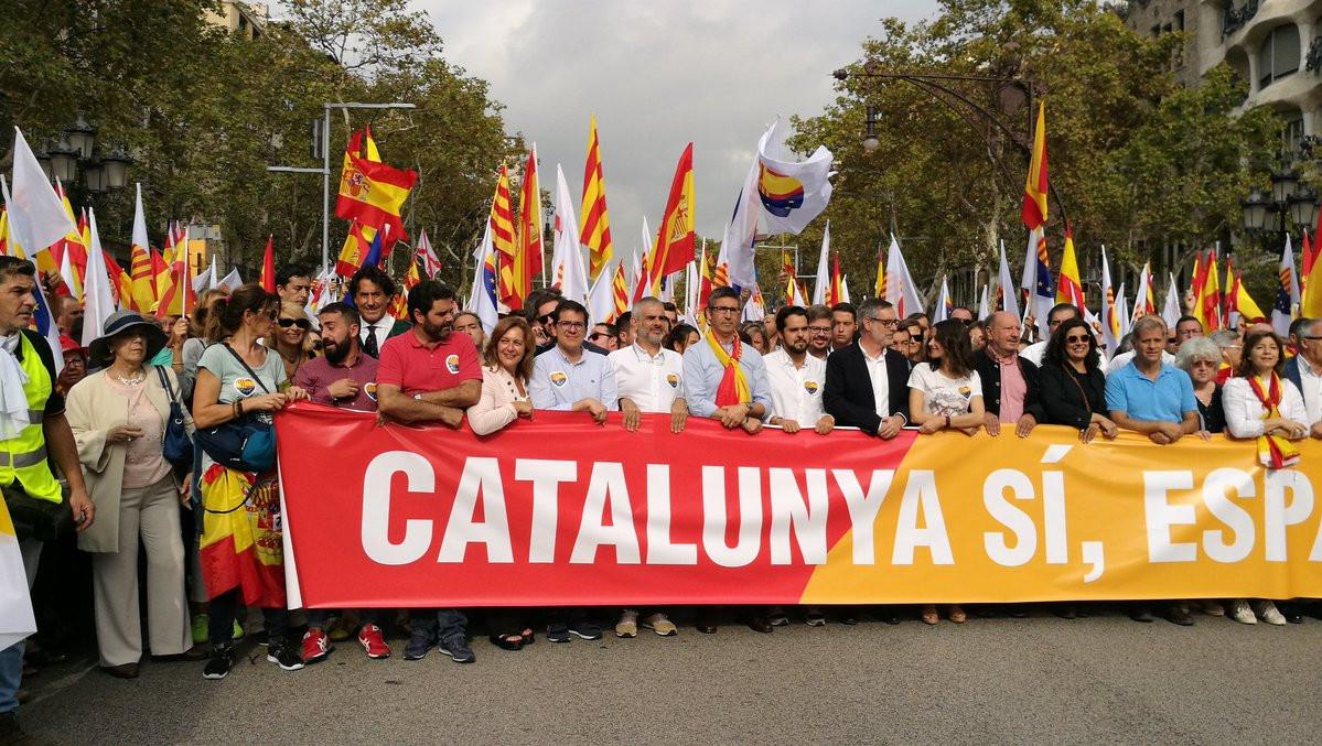 Manifestacion Barcelona 12O