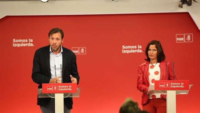 Oscar puente luz martinez PSOE