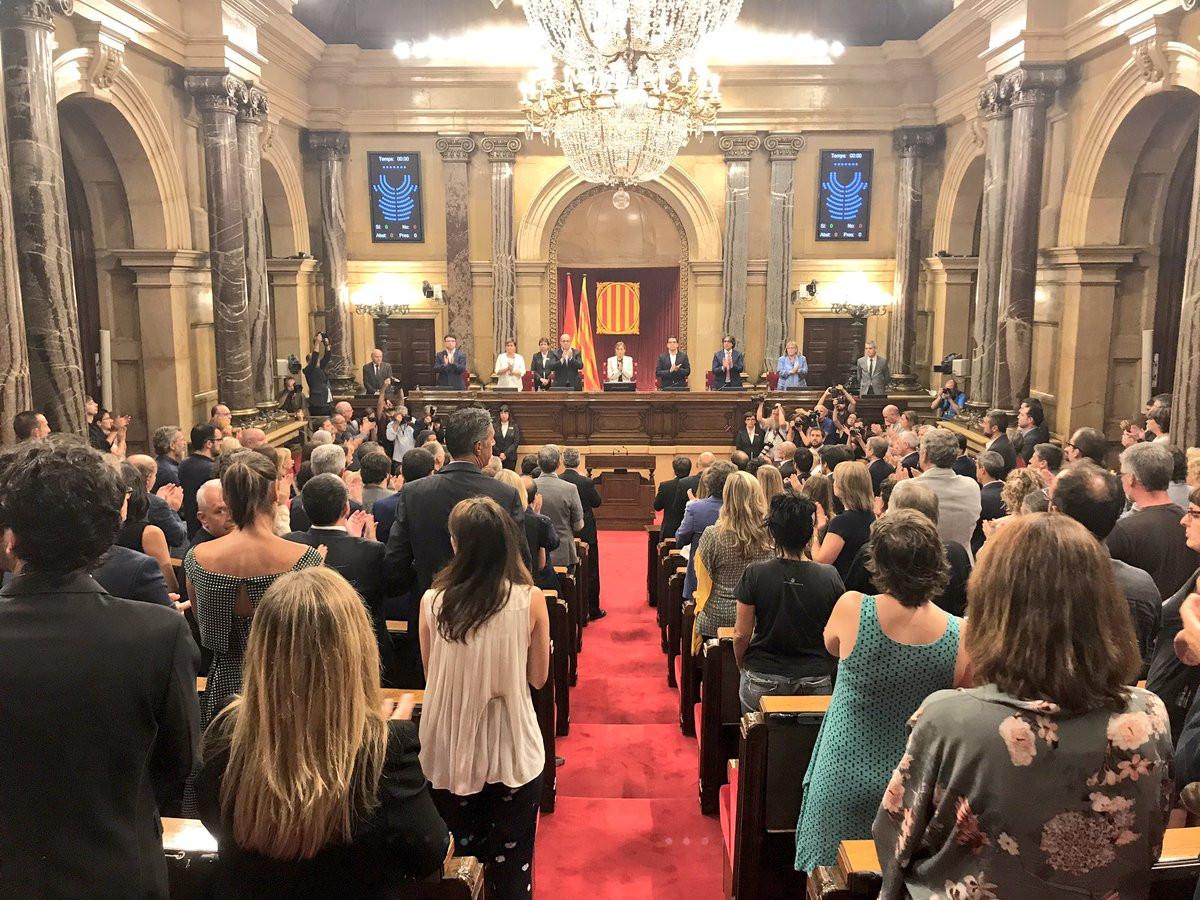 Pleno Parlament Vctimas