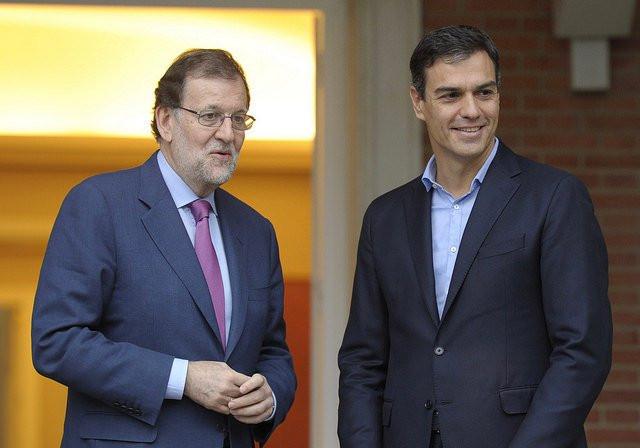 Encuentro Rajoy sanchez Moncloa