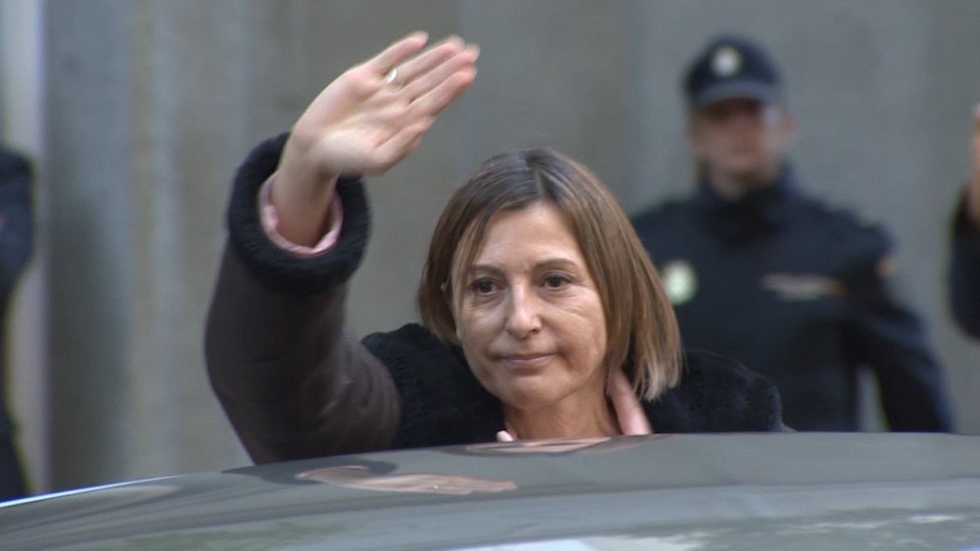 Forcadell salida tribunal supremo 9 noviembre