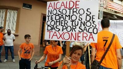 MANIFESTACION LA TAXONERA