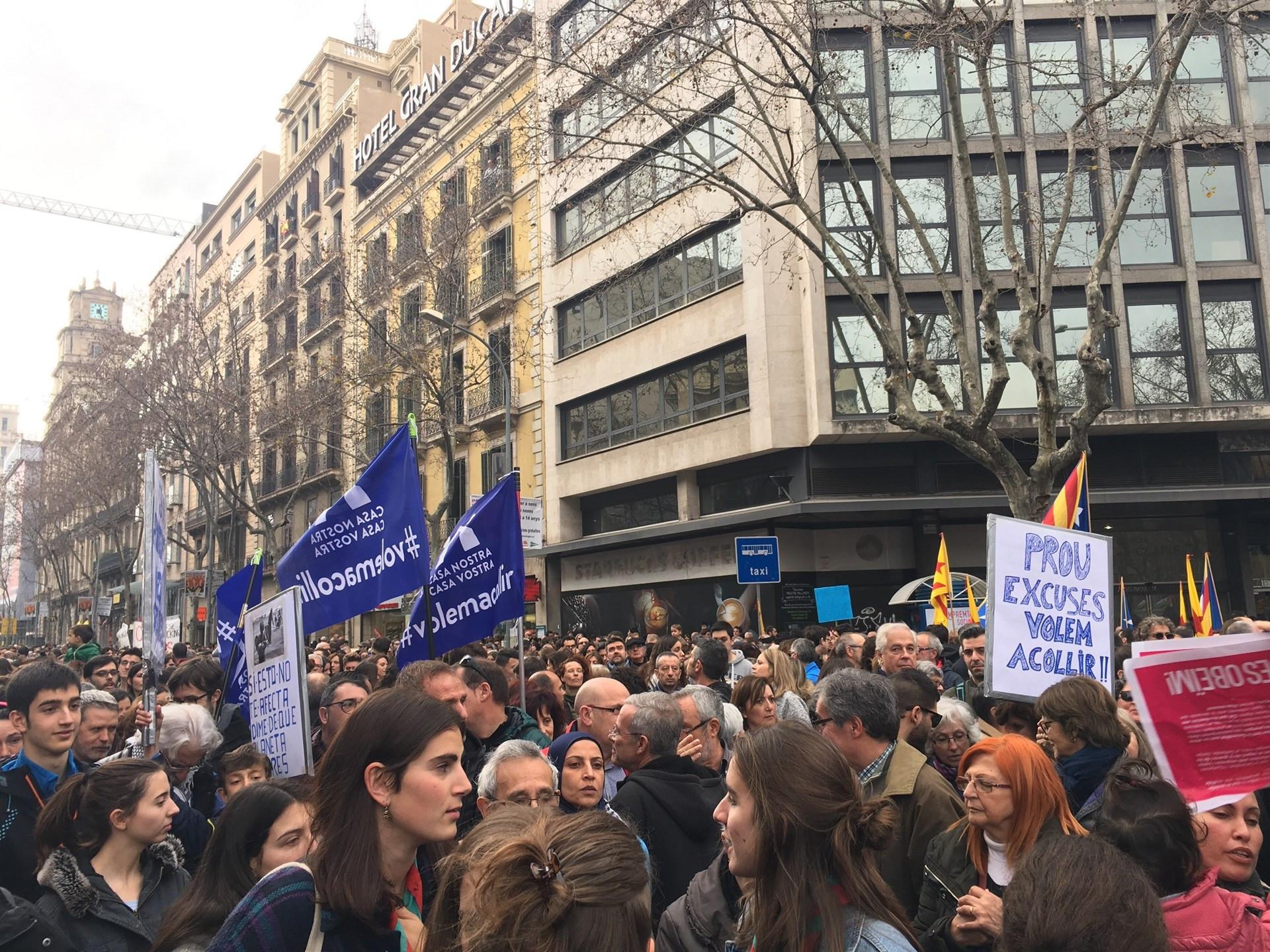 Manifestacinrefugiados