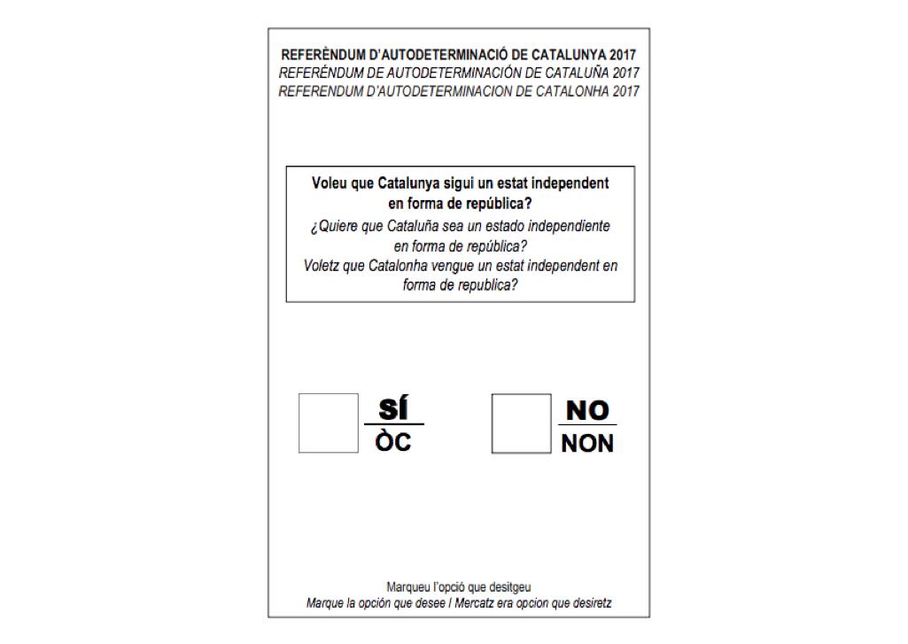 Papeleta referendum