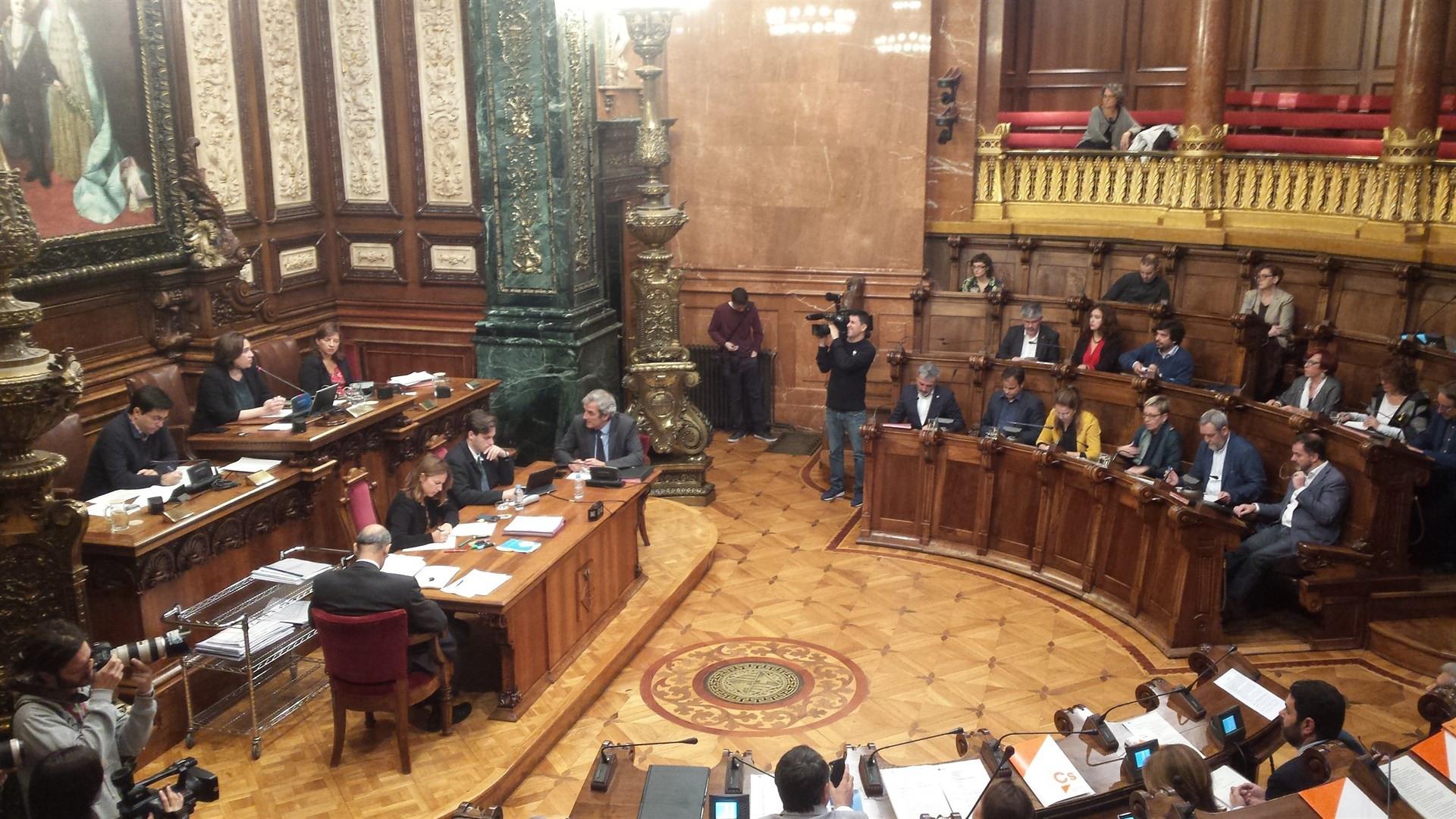 Pleno ayuntamiento barcelona