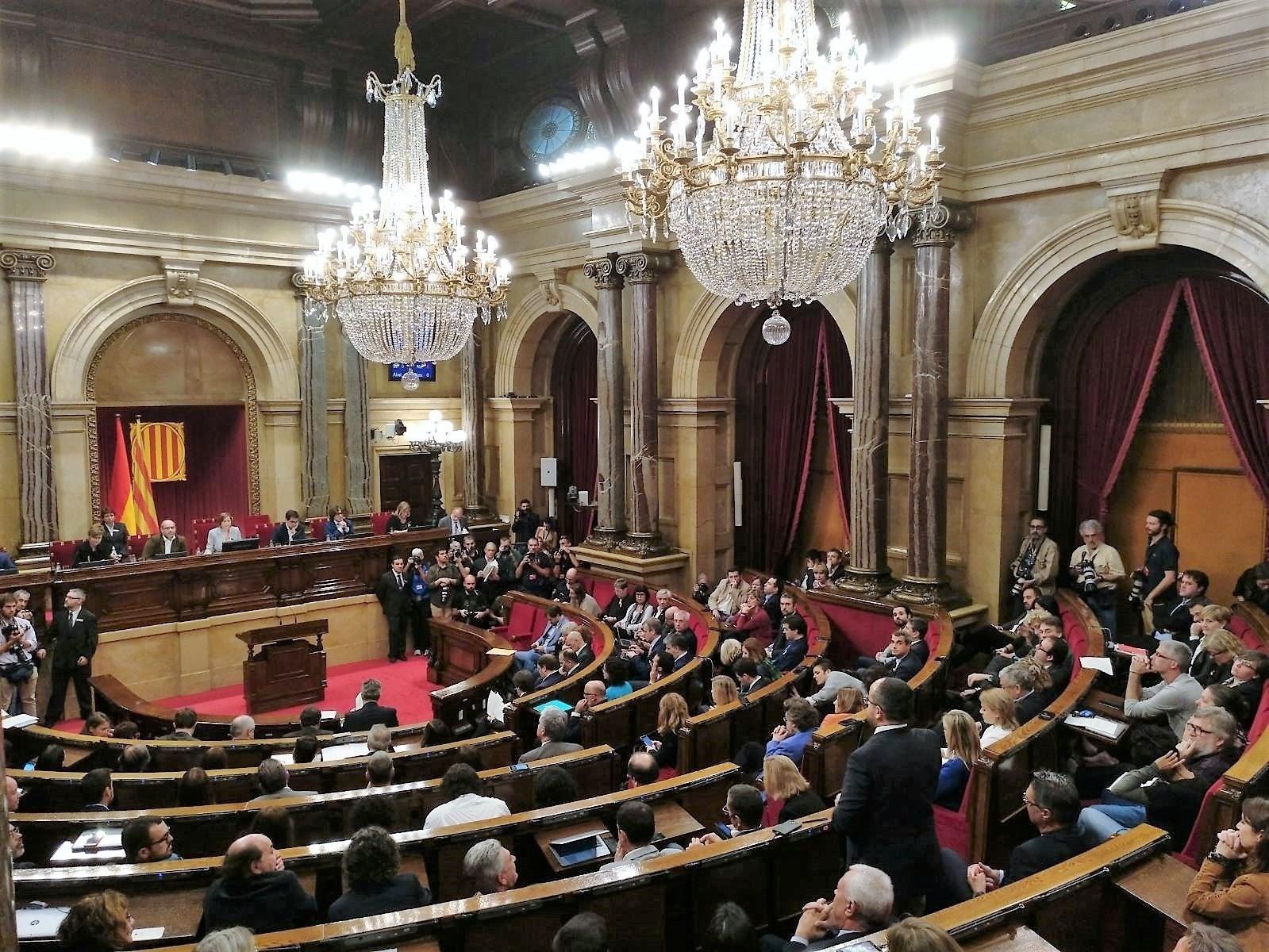 Pleno parlament 27 octubre 2017