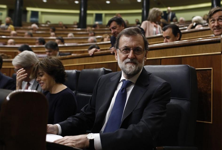 Rajoy congreso escao
