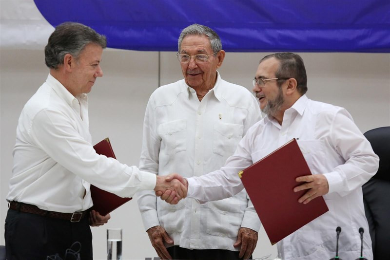 Juan Manuel Santos, presidente de Colombia, Nobel de la Paz 2016