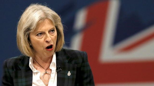 Theresa may 1 1