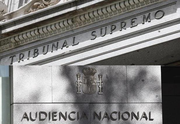 Tribunal supremo y audiencia nacional