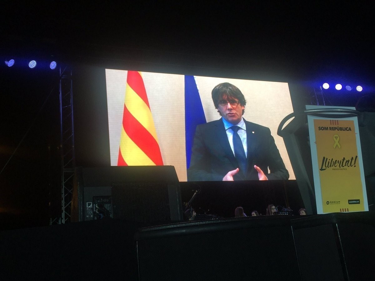 Video puigdemont