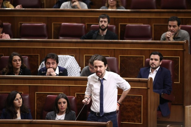 Pablo Iglesias interviene Congreso
