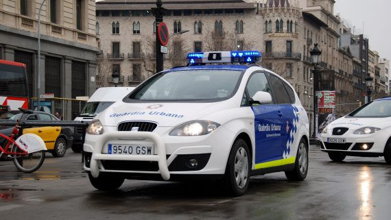Vehicle guardia urbana